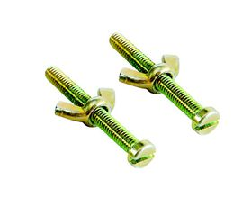 Zodiac - Brass Wing Nuts and Screws