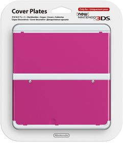 Nintendo - New Nintendo 3DS Coverplate - Pink (3DS)