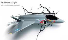 3D Lights - Fighter Jet