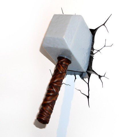 marvel 3d lights thor hammer buy online in south africa