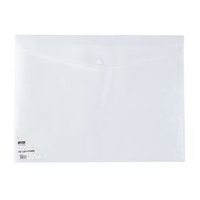 Meeco A3 Creative Colour Carry Folder - White