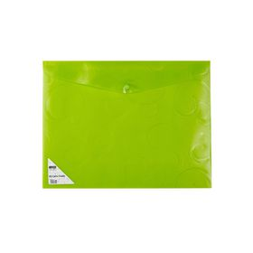 Meeco A4 Creative Colour Carry Folder - Green