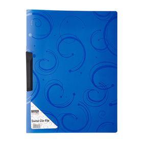 Meeco A4 Creative Colour Swing Clip File - Blue