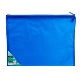 Meeco Carry Bag with Zip Closure - Blue