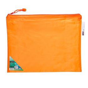 Meeco Carry Bag with Zip Closure - Orange