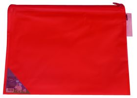 Meeco Carry Bag with Zip Closure - Red