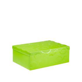 Meeco Creative Collection P.P Foolscap Size Storage Box - Green