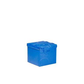 Meeco Creative Collection P.P Small Size Storage Box - Blue