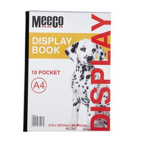 Meeco A4 Display Book - 10 Pockets