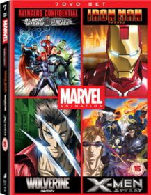Marvel Anime Collection (Import DVD)