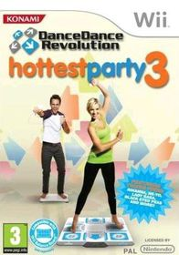 Dance Dance Revolution Hottest Party 3 (Solus) (Wii)