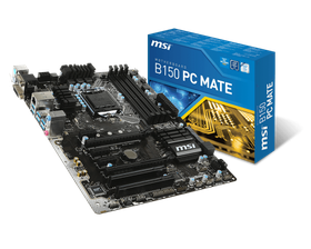 MSI Intel Z170A PC Mate Motherboard - Socket 1151