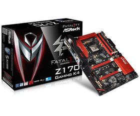 ASRock Intel Z170 Gaming K4 Motherboard - Socket 1151
