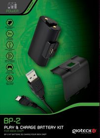 Gioteck - BP-2 Play And Charge Battery Pack (Xbox One)