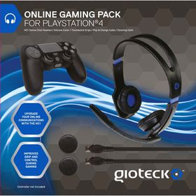 Gioteck - PS4 Online Gaming Pack