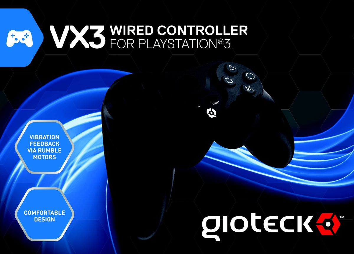 Gioteck - Vx-3 Wired Controller (ps3) | Buy Online in South Africa ...