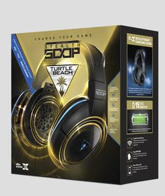 Turtle Beach - Earforce Stealth 500P Wireless DST Surround Sound Gaming Headset (PS4)