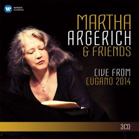 Martha Argerich - Live From Lugano 2014 (CD)