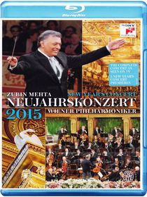 Zubin Mehta And Wiener Philharmoniker - New Year's Concert 2015 (Blu-ray)
