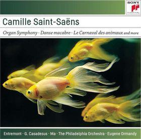 Ormandy Eugene - Saint- Saens: Organ Symphony Bacchanale, Danse (CD)