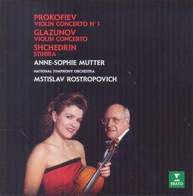 Anne-Sophie Mutter - Glazunov & Prokofiev : Violin Concertos (CD)