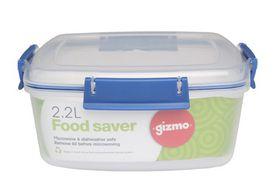 Gizmo - Plastic Food Storage Clip Container - 2.2 Litre