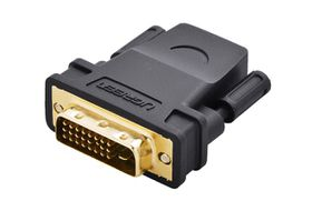 UGreen DVI i24 Male to HDMI Female Adapter