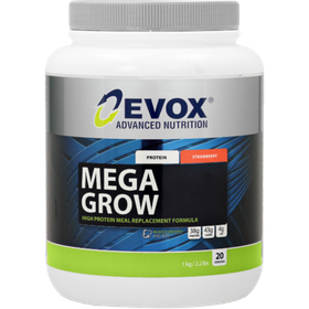 Evox Mega-Grow Strawberry - 1kg