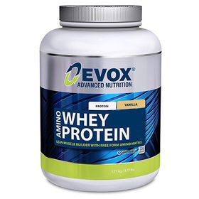 Evox Amino Whey Protein Vanilla - 1.71kg