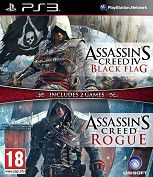 Compilation AC4 Black Flag + AC Rogue (PS3)