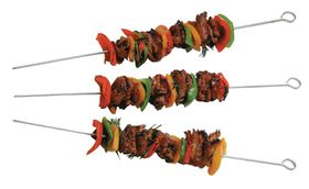 Char-Broil - Deluxe Chrome Skewers Set