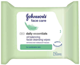 Johnson's Daily Essential Wipes Combination