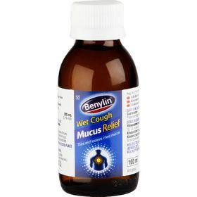 Benylin Wet Cough Mucus Relief - 100ml
