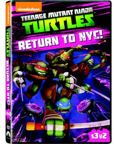 Teenage Mutant Ninja Turtles: Return To New York City (DVD)