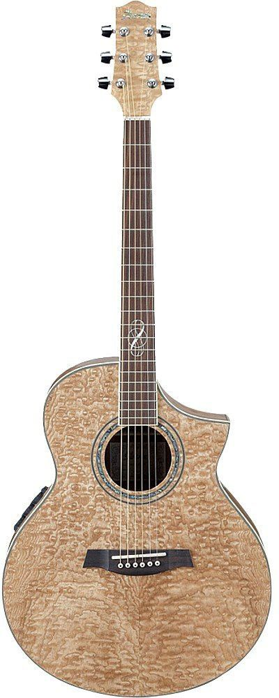 Ibanez EW20ASE NT EW Series Acoustic Electric Guitar Natural Loading Zoom