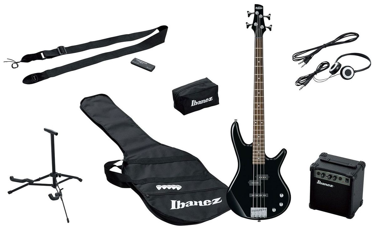 Ibanez Gsr190lju-bk Gio Series Jumpstart 4-string Bass Guitar ...