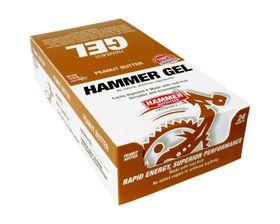 Hammer Nutrition Gel Rapid Energy Fuel Peanut Butter 24 Sachet