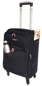 Tosca Gold Ultra Light Cabin Case 50cm - Black & Orange