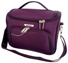 Tosca Gold Ultra Light Soft Vanity Case - Purple/Grey
