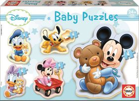 Educa Baby 5-in-1 Puzzle - Mickey