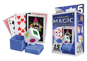 MAGIC ON THE MOVE POCKET SET 2 BY HANKY PANKY TRICKS COOL ILLUSIONS DAZZLING
