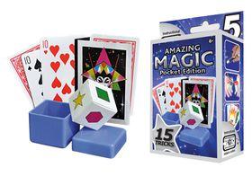 Hanky Panky Amazing Magic Pocket Set #5 with 15 Tricks