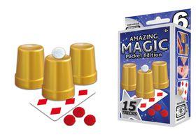 Hanky Panky Amazing Magic Pocket Set #6 with 15 Tricks