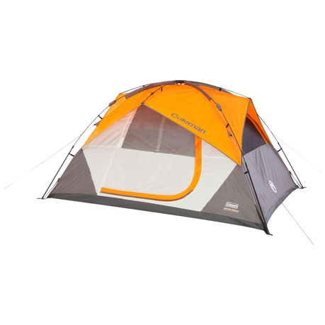 Coleman - Instant Dome 5 Man Tent - Orange