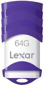 Lexar JumpDrive V30 USB Flashdrive 64GB - Purple