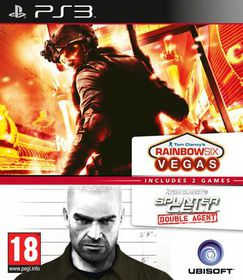 Splinter Cell Double Agent And Rainbow 6 Vegas Compilation (PEGI) (PS3)
