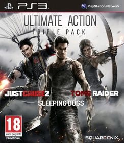 Ultimate Action Triple Pack - Just Cause 2, Sleeping Dogs And Tomb Raider (PS3)