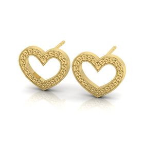 Why Jewellery Heart Studs