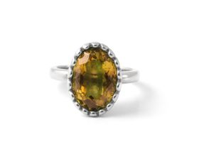 Why Jewellery Citrine Ring - Silver
