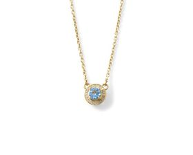 Why Jewellery Diamond and Topaz Pendant And Chain - Yellow Gold